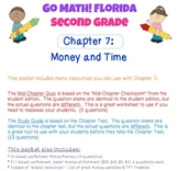 Go Math! Second Grade Study Pack for Chapter 7: Money & Time