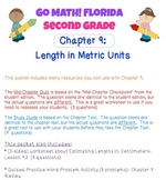 Go Math! Second Grade Study Pack for Chapter 9: Length (Metric)