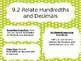 Go Math Slides Ch. 9