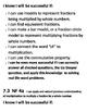 Go Math Success Criteria Chapter 7