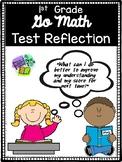 Go Math Test Reflection- 1st Grade