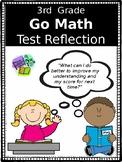 Go Math Test Reflection- 3rd Grade