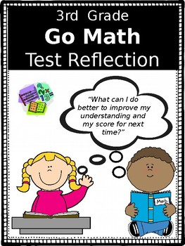 Go Math Test Reflection- 3rd Grade