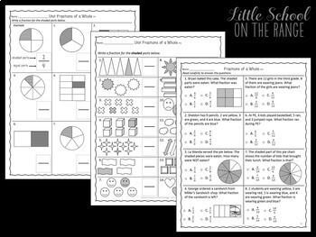 Go Math Grade 3: Chapter 2  Supplement - Representing Fractions