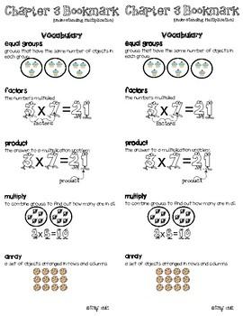 Go Math - Third Grade Chapter 3 Bookmark