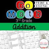 Go Math 3rd Grade: Chapter 4  Supplement - Addition