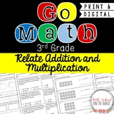 Go Math Grade 3: Chapter 6 Supplement - Relate Addition and Multiplication