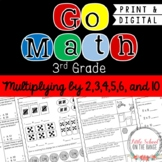 Go Math 3rd Grade: Chapter 7 Supplement - Multiplying by 2,3,4,5,6,and 10