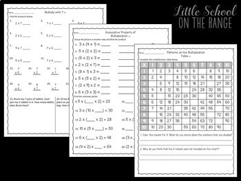 Go Math Grade 3: Chapter 8 Supplement - Multiplying by 7, 8, and 9