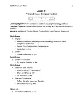 Go Math - Third Grade Lesson Plans - Chapter 9