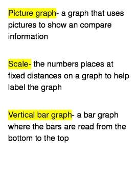Go Math Third Grade Vocabulary Unit 1