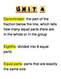 Go Math Third Grade Vocabulary Unit 4
