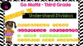 Go Math! Third Grade Word Wall/ Vocabulary Cards- Chapter 6