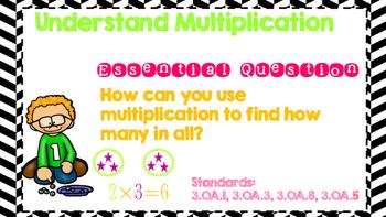 Go Math! Third Grade Word Wall/ Vocabulary Chapter 3