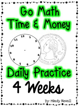 Go Math Time and Money Daily Practice