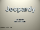 Go Math Unit 1 Jeopardy Game