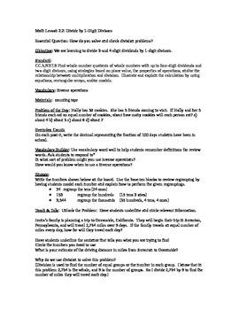 Go Math Unit 2 Lesson Plans