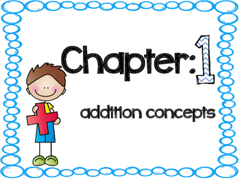 Go Math Vocabulary Cards Chapter 1