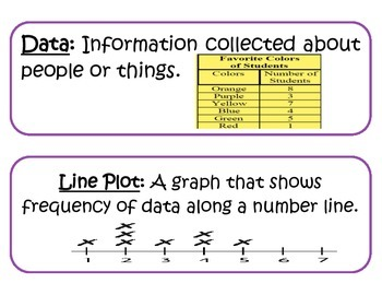Go Math! Vocabulary Cards Chapters 9-11 ONLY