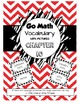 Go Math Vocabulary Chapter 1-13 BUNDLE