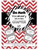 Go Math Vocabulary Chapter 1-13 BUNDLE