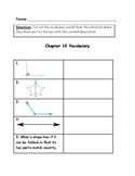 Go Math Vocabulary Match, 4th Grade, Chapter 10