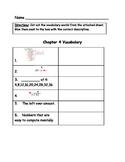 Go Math Vocabulary Match, 4th Grade, Chapter 4