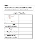 Go Math Vocabulary Match, 4th Grade, Chapter 4