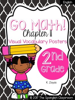 Go Math! Vocabulary Posters in English- Chapter 11