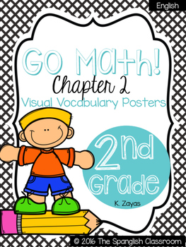 Go Math! Vocabulary Posters in English- Chapter 2