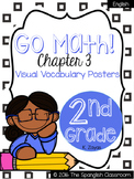 Go Math! Vocabulary Posters in English- Chapter 3