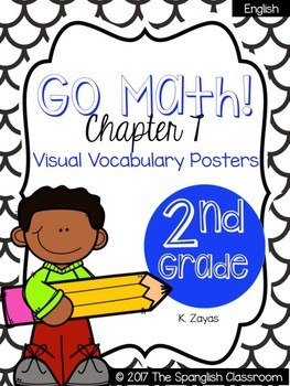 Go Math! Vocabulary Posters in English- Chapter 7