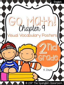 Go Math! Vocabulary Posters in English- Chapter 9