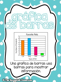 Go Math! Vocabulary Posters in Spanish- Chapter 10