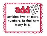 Go-Math Vocabulary Chapter 1