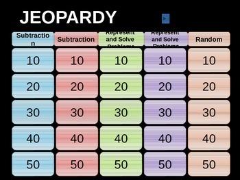 Go Math _ Chapter 5 Jeopardy