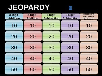 Go Math _ Chapter 6 Jeopardy