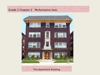 2nd Grade   Chapter 2 Math Performance task Apartment Building