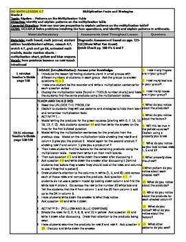 Go Math grade 3 lesson 4.7