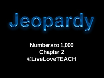 Go Math_ Chapter 2 Jeopardy