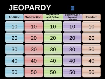 Go Math_ Chapter 3 Jeopardy