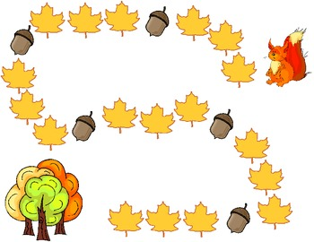 Go Nuts! Fall Path Game