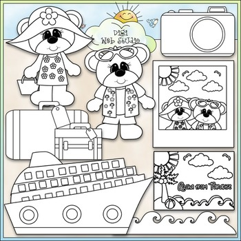 Go On A Cruise 1 - Commercial Use Clip Art & Black & White Images