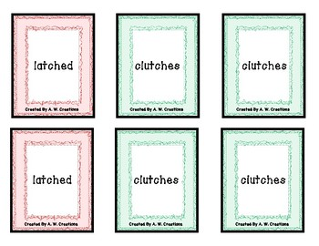 Go Phish! Digraphs (Go Fish) Phonics Card Game