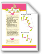 Go Pick! (High-Frequency Words: Center Games, Level D)