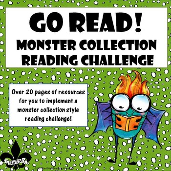 Go READ! Monster Collection Reading Challenge