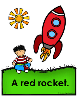 Go, Rockets!!  Emergent Reader
