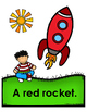Go, Rockets!!  Emergent Reader