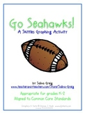 Go Seahawks! K-2 Skittles Graphing Activity CCSS Football Super Bowl Fun!