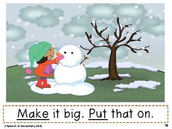 Go, See & Do: Using Core Vocabulary Across the Seasons